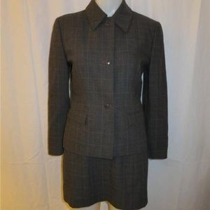 MICHAEL KORS  CHARCOAL GRAY & SILVER DRESS SUIT 8